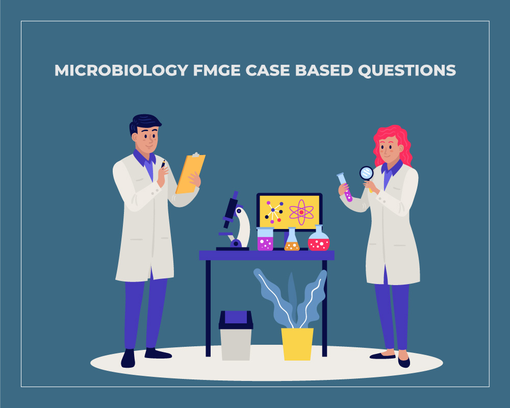 Microbiology FMGE Case Based Questions